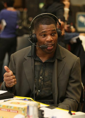 NFL Player Herschel Walker