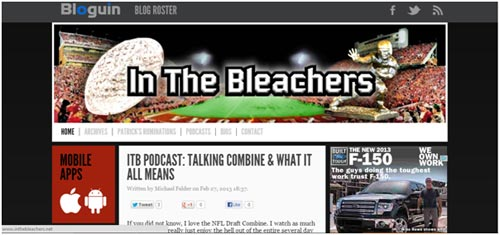 Podcasts from In the Bleachers