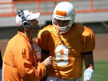 Tennessee Vols QB Jonathan Crompton