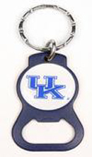 Kentucky Wildcats bottle opener keychains