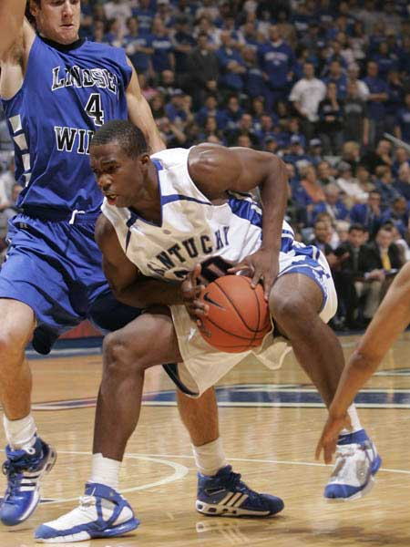 Kentucky Wildcats Jodie Meeks