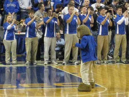Kentucky Wildcats Mascot