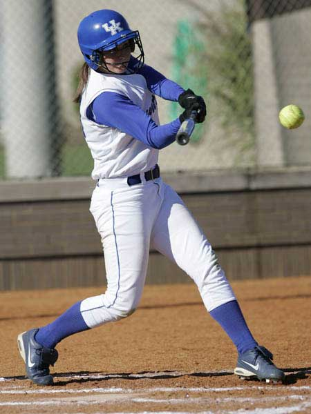 Kentucky women's softball hit