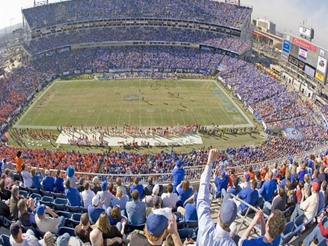 2007 Music City Bowl at LP Field in Nashville