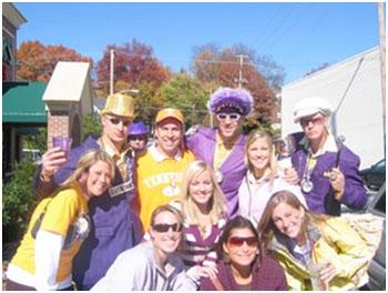 LSU fans.