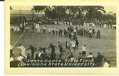 Snake Dance-LSU State Field 1922