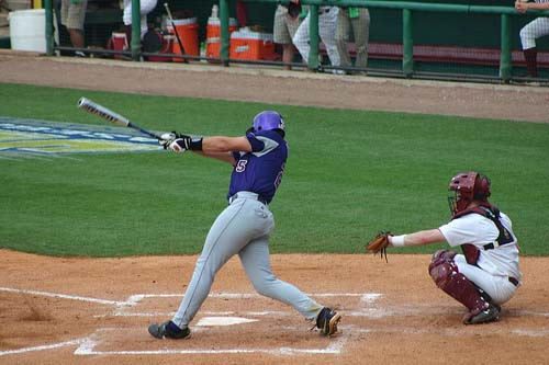 LSU Baseball Hit
