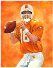 Manning Peyton UT Color Painting