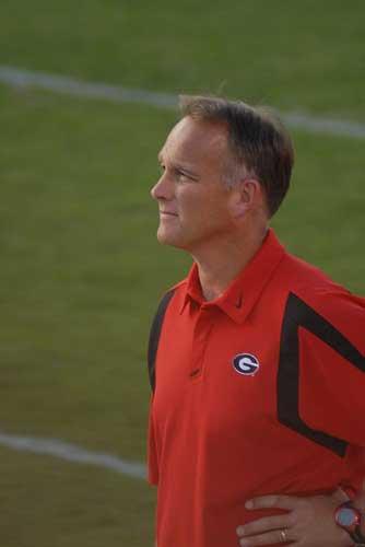 Georgia Coach Mark Richt