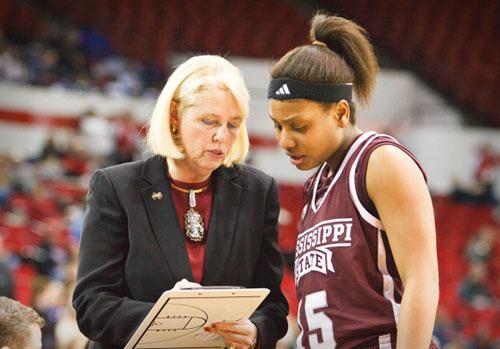 Mississippi State coach Sharon Fanning-Otis