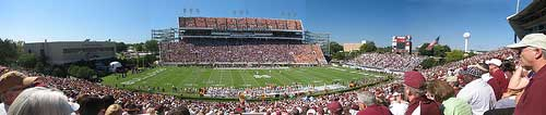 MSU's Davis Wade Stadium at Scott Field
