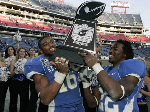 Kentucky's Music City Bowl Trophy