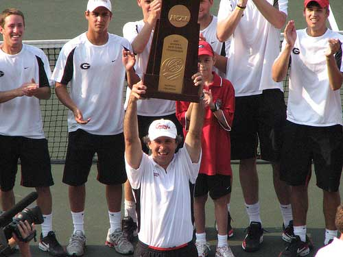 Georgia wins 2007 NCAA Tennis Championship