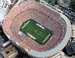 Neyland Stadium Crowd