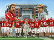 Nick Saban Painting