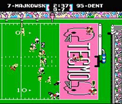 Old Nintendo Techmo Bowl game.