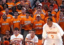 tennessee volunteers basketball fans