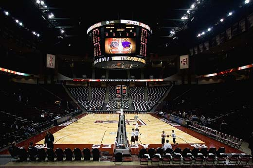 Reed Arena, Texas A&M