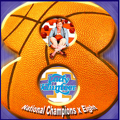 Pat Summitt 8 Championships Graphic