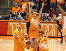 Pat Summitt Tennessee Cheerleader Pyramid