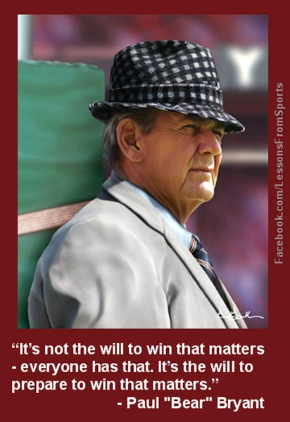 "sec football paul bear bryant Houston – arkansas head football coach bret bielema was one of 23 coaches named to the watch list for the american heart association (aha) paul ""bear"" bryant."