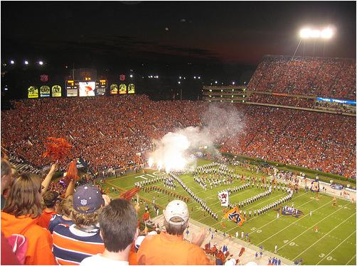 Pre-Game Festivities at Auburn's Jordan-Hare Stadium