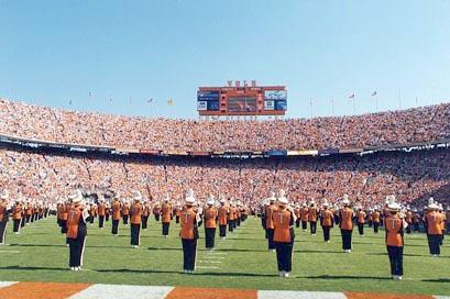 Neyland Stadium Tennessee Band