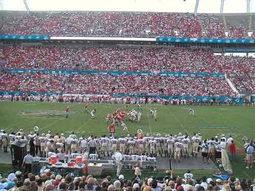 Sun Bowl Stadium, Orlando.