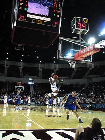 Ravern Johnson soars
