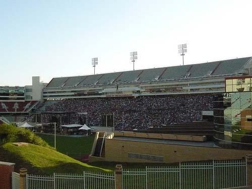 University of Arkansas' Razorback Stadium