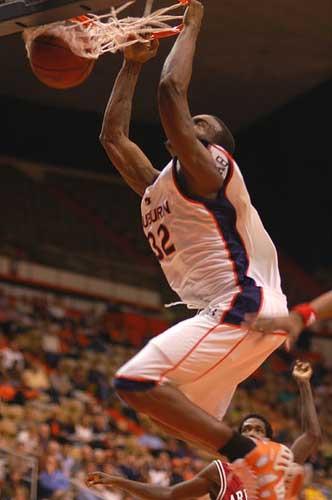 Auburn Tigers Slam Dunk