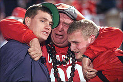 Ohio State Fans Watch National Championship Loss