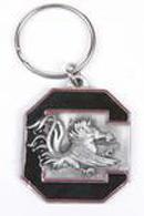 South Carolina pewter keychains