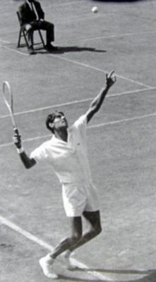 The Best Serve, Best Player:  Pancho Gonzales