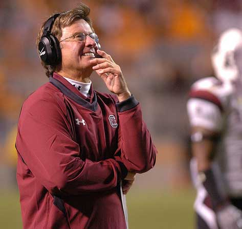 steve spurrier can't look
