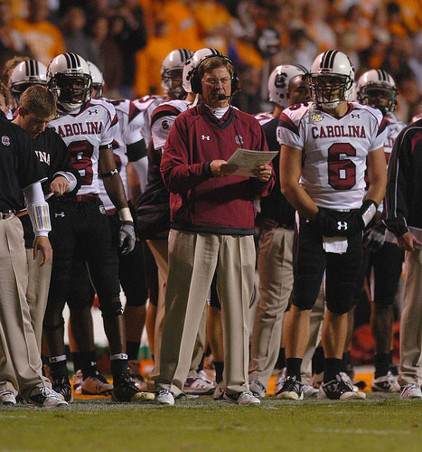Steve Spurrier Calls the Play