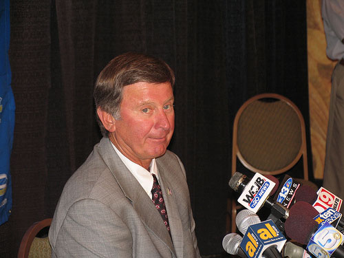 University of South Carolina Head Football Coach Steve Spurrier
