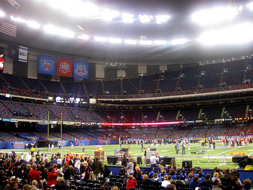 New Orleans Louisiana Sugar Bowl Stadium