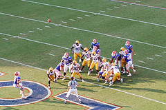 Famous Tim Tebow Touchdown Throw