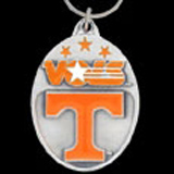 Tennessee Volunteers pewter keychains
