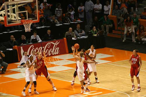 Tennessee Lady Vols Jumpshot
