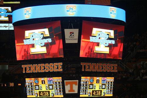 Tennessee Basketball Jumbotron
