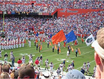Florida Gators Football Swamp