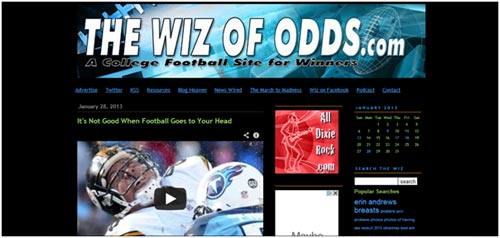 The Wiz of Odds