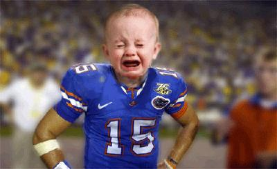 Cry Baby Face Tim Tebow