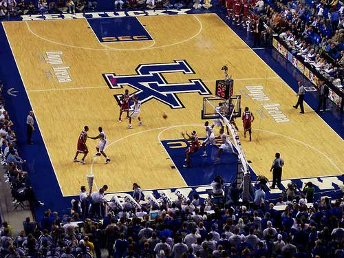 University of Kentucky Wildcats Rupp Arena.