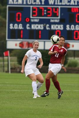UK vs. Alabama Soccer 9-28-08