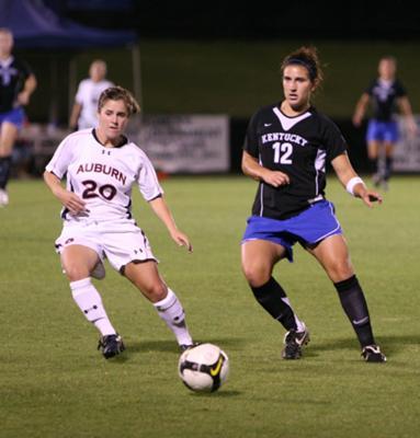 Kentucky vs. Auburn Soccer 9-26-08