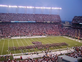 South Carolina Gamecocks Band