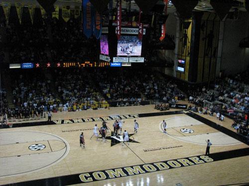 Vanderbilt's Memorial Gymnasium